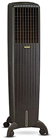 Symphony Diet 50i Tower Air Cooler 50-litres, with Remote, Multistage Air Purification, Honeycomb Pad, Empty Water-Tank Alarm & Low Power Consumption (Black)