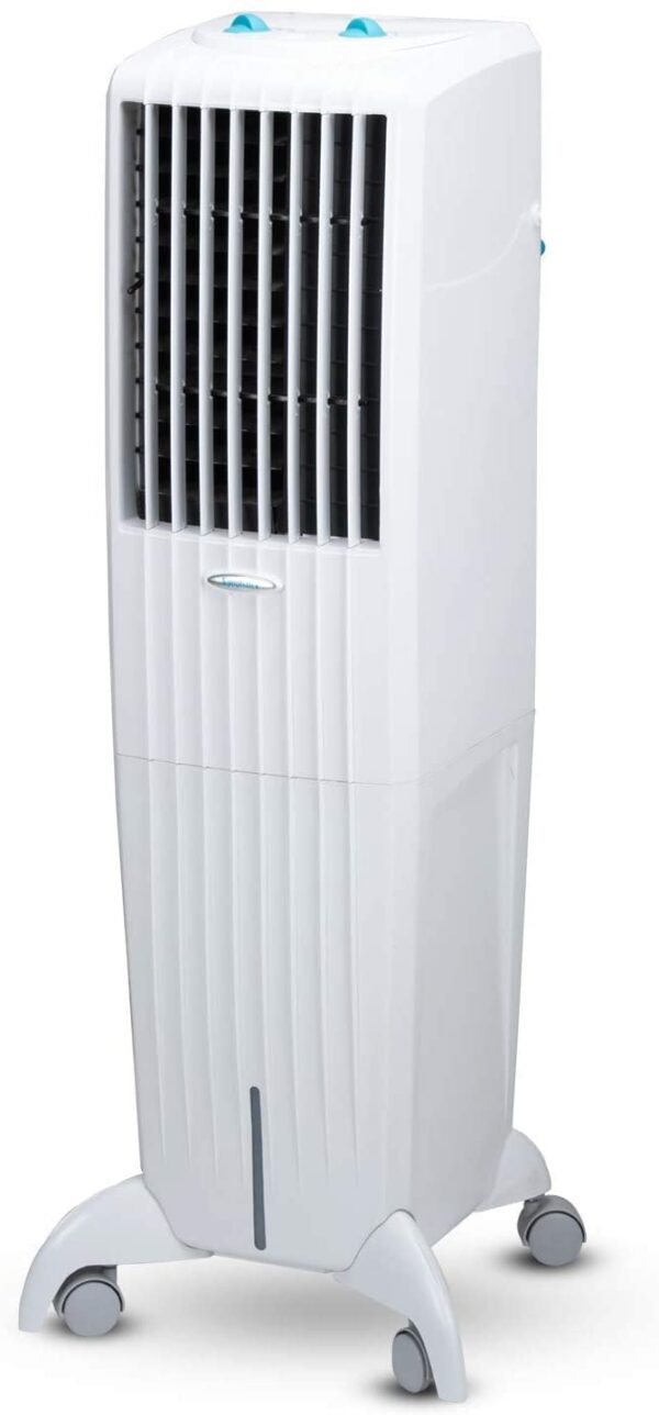 Symphony Diet 35T Sleek & Powerful Personal Tower Air Cooler 35-litres, Multi-Stage Air Purification, Honeycomb Pad, Cool Flow Dispenser & Low Power Consumption (White)