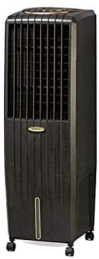 Symphony Diet 22i Personal Tower Air Cooler 22-litres, with Remote, Multistage Air Purification, Honeycomb Pad, Empty Water-Tank Alarm & Low Power Consumption (Black)